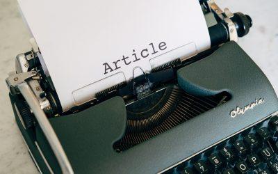 3 Langkah Mudah Menulis Artikel